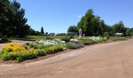 The beautiful Flintfields Horse Park, home to this year's Great Lakes Equestrian Festival.