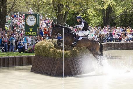 2014 Rolex Kentucky Three-Day Event winners William Fox-Pitt of Great Britain and Bay My Hero (Photo: Ben Radvani)