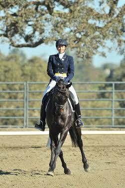 Frankie Thieriot and Chatwin won the Woodside CIC1*. Sherry Stewart photo.