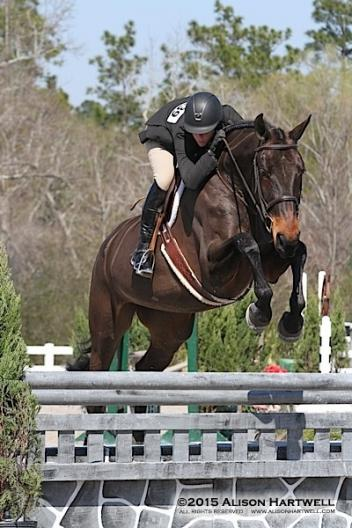Gabriella and Sarah Young win the $2,500 USHJA National Hunter Derby, presented by Tucci.