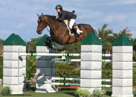 Georgina Bloomberg is back at the top of her game. Photo by Kenneth Kraus.