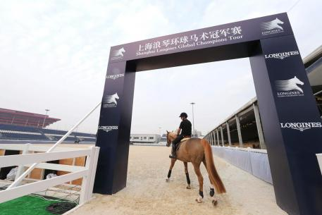 Live TV coverage of LGCT Shanghai on Chinese TV Networks. Photo: Stefano Grasso/LGCT