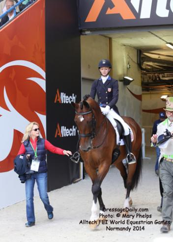 Laura Graves and Verdades enter the arena for the rider of their lives.