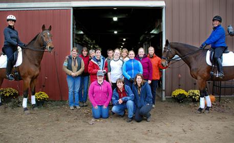 Lindinhof Equine Sports Zentrum family of students and clients