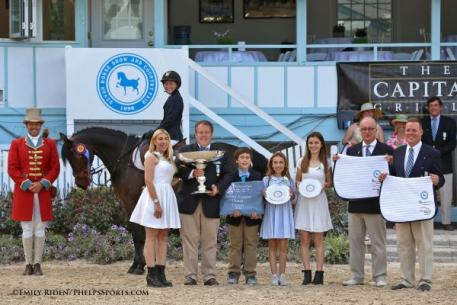 Hannah Dodd and Blink Of An Eye Win Pony Jumper Championship