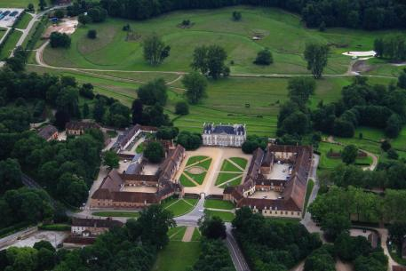 Haras du Pin, venue for the Dressage and Cross-Country phases of Eventing during the forthcoming Alltech FEI World Equestrian Games™ 2014. Photo: FEI/Conseil general de l'Orne