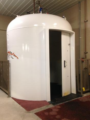 The Hyperbaric Oxygen Chamber at The Sanctuary
