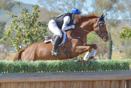 Heather Morris and Russell's Reserve won the CIC1* at the Galway Downs International Horse Trials. (Sherry Stewart photo)