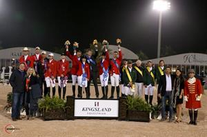The winning Hermès U.S. Show Jumping Team (Photo: Sportfot)