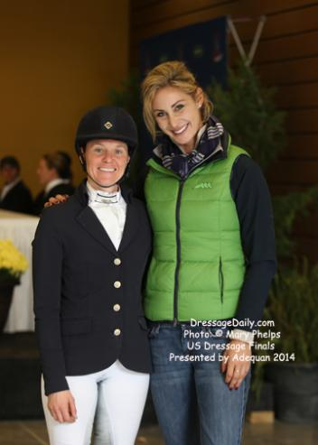 "Rachel Hicks from Prescot, Kentucky credits her trainer Caroline Roffman for their ""Facetime lessons"""