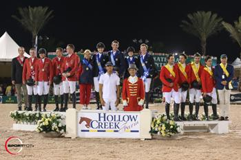 The Hollow Creek Farm Nations' Cup Series will welcome up-and-coming riders from around the world to Wellington, FL, during week eight of the Winter Equestrian Festival. Photo by Sportfot