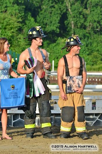 The firefighter calendar models will be at the VIP from 6-7:30 promoting their 2016 calendar to benefit the Charleston Animal Society. Photo: © Alison Hartwell 2015
