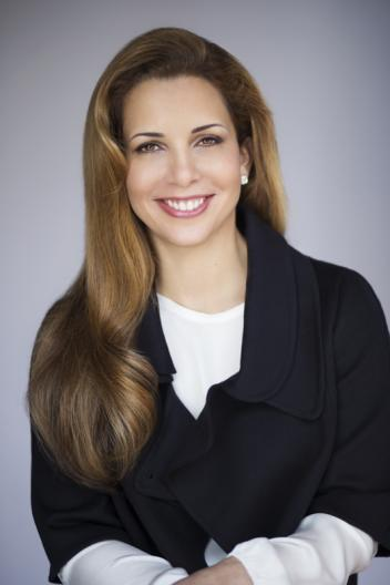 FEI President HRH Princess Haya who will be made Officer of the National Order of the Legion of Honour, France's highest distinction.