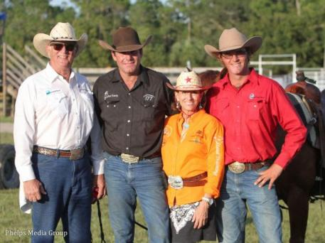 The HSBA and Steed Training Team: Tom DiRocco, Rick Steed, Susan Shelly and Trevor Steed. Photo by Carrie Wirth.