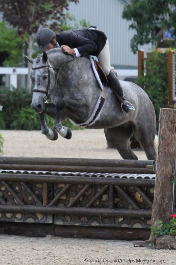 Gotham and Hunt Tosh during their winning trip in Round 1 of the Pre-Green Incentive.