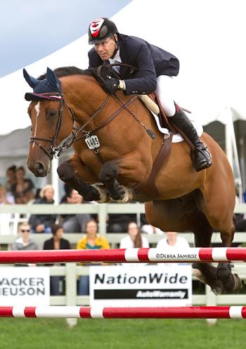 Ten-time Canadian Olympian and local area resident Ian Millar is an advisor to the Ottawa International, which brings show jumping back to the Nation's Capital from June 17 to 21. Photo © Debby Jamroz