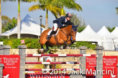 Ian Millar and Star Power. Photo copyright Mancini Photos, www.manciniphotos.com.
