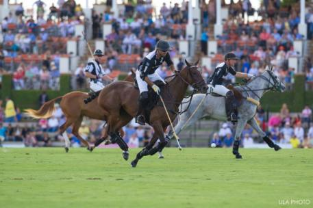 Many of the top polo players in the world can be seen at IPC. Photo: LILA PHOTO.