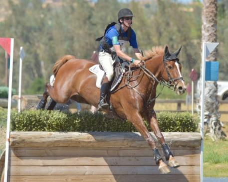 James Alliston and Tivoli topped the CIC3* at the Galway Downs International Horse Trials. (Sherry Stewart photo)