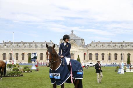 Jessica Springsteen (USA) and Davendy S (Photo:©RBpresse/J.Rodrigues)