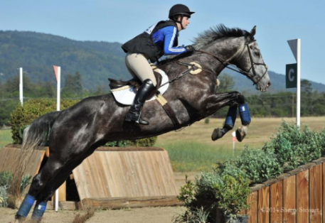 In 2014, Joanna Saunders guided Ansel Adams to victory in the Rider Division of the Woodside Preliminary Challenge at The Event At Woodside. (Sherry Stewart photo)