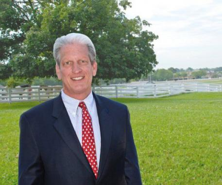 John Nicholson, newly appointed CEO of the Virginia Horse Center.