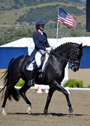 Intermediaire I winners Charlotte Jorst & Kastel's Adventure. (Photo: Jennifer M. Keeler)