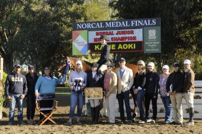 Katie Aoki wins the Nor Cal Junior Medal Final her first time competing in it. Photo: Deb Dawson