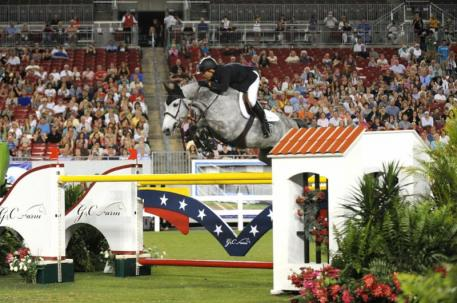 Kent Farrington and Uceko won the American Invitational in 2011. Photo by The Book LLC