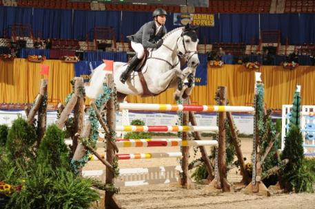 """Big Jump"" Winners Kent Farrington and Willow. (c) Al Cook - alcookphoto.com"