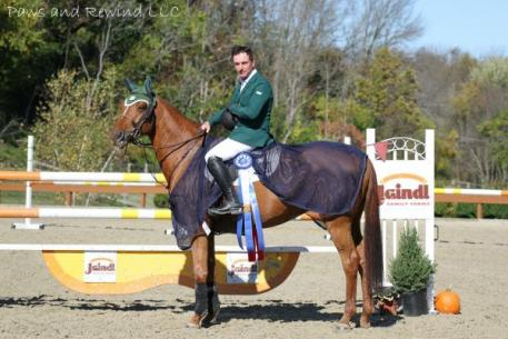 Kevin Babington and Cariatide captured the $5,000 Ridge at Riverview Grand Prix.