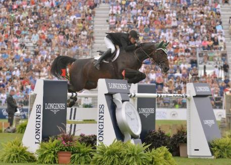 Kevin Babington and Shorapur Win $250,000 Grand Prix. Photo by: Shawn McMillen