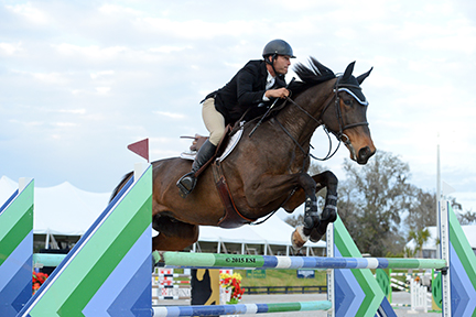 Kris Killam and Mandy Killam's Black Diamond win Thursday's $25,000 SmartPak Grand Prix at HITS Ocala.(c) ESI Photography