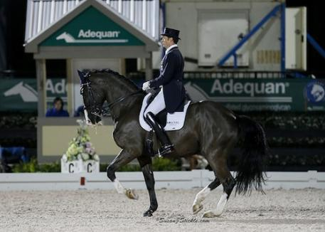 Christoph Koschel (GER), Tiesto, 2000 Dutch Warmblood gelding, Gribaldi x Nadie x Ferro Photo: SusanJStickle.com