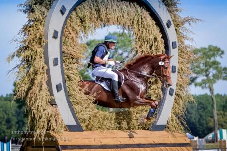 Kyle Carter and FR's Trust Fund put in a spectacular performance to finish third in the CCI2* division at the Ocala Horse Properties International Festival of Eventing, held April 8-12 in Ocala, FL. Anthony Trollope for Shannon Brinkman Photography