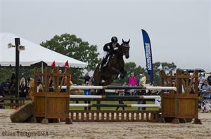 Lainey Ashker and Anthony Patch won the National Title in 2013 (Leslie Threlkeld/USEA)