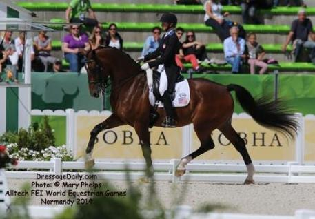 Laura Graves along with Steffen Peters have clinched their spot for the 2015 World Cup in Las Vegas.