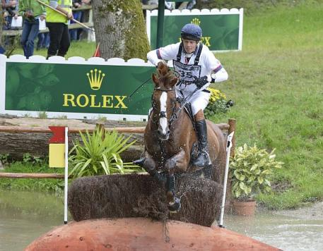 William Fox-Pitt riding Chilli Morning
