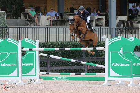 Lucas Porter and Doma Sue in the $25,000 Tryon Grand Prix (Photo: ©Sportfot)