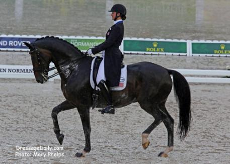 Adrienne Lyle and Wizard. Photo by Mary Phelps