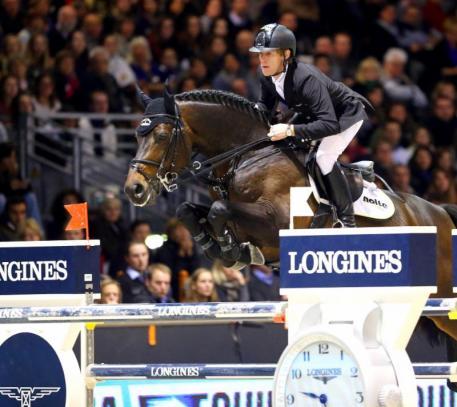 Three-time FEI World Cup champion Marcus Ehning of Germany aboard Singular LS La Silla (c) Pierre Costabadie /FEI