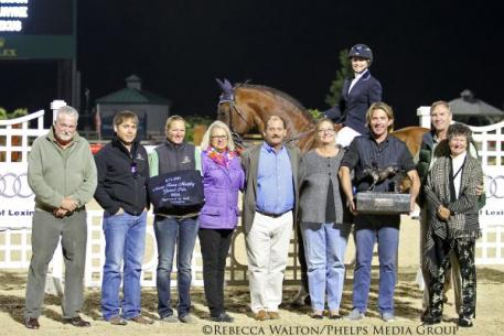 Margie Engle and Royce, Winners of the 2014 Mary Rena Murphy Grand Prix