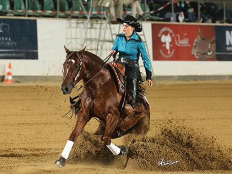 Marina Becker & Walla Whiz Crome take the championship. (Photo: Andrea Bonaga)
