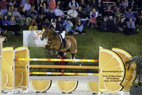 McLain Ward of Brewster, New York, on his faithful Rothchild, owned by Sagamore Farm. Photo: © Mary Phelps