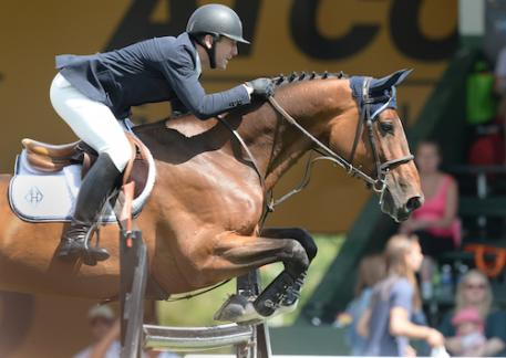 McLain Ward and HH Azur (Photo: Spruce Meadow Media)
