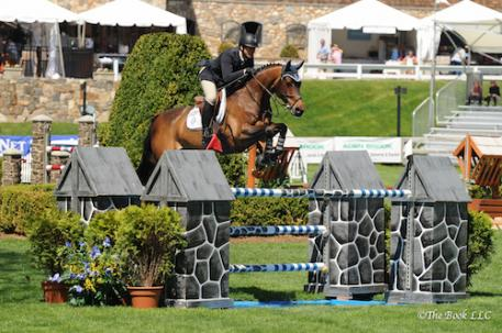 McLain Ward and HH Carlos Z. Photo by The Book, LLC