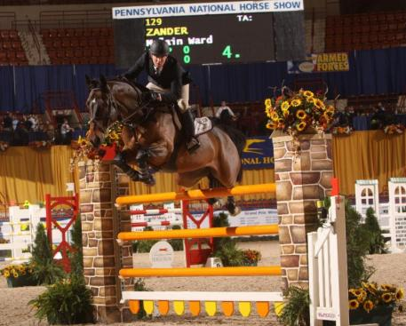 McLain Ward and Zander (c) Al Cook - alcookphoto.com