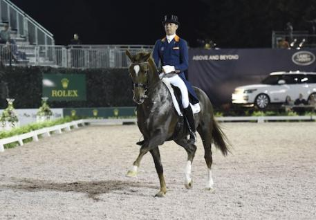 Hans Peter Minderhoud and Glock's Flirt. Photo Credit Kit Houghton/Rolex