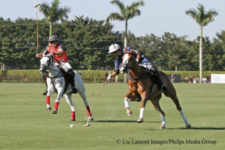 Remy Muller and Nico Pieres. Photo: Liz Lamont Images