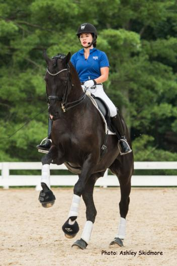 Natalie Pai and San Fritz Tino prepare for the AGCO/USEF Young Rider Dressage National Championship at the Lamplight Equestrian Center, coming up August 21-23